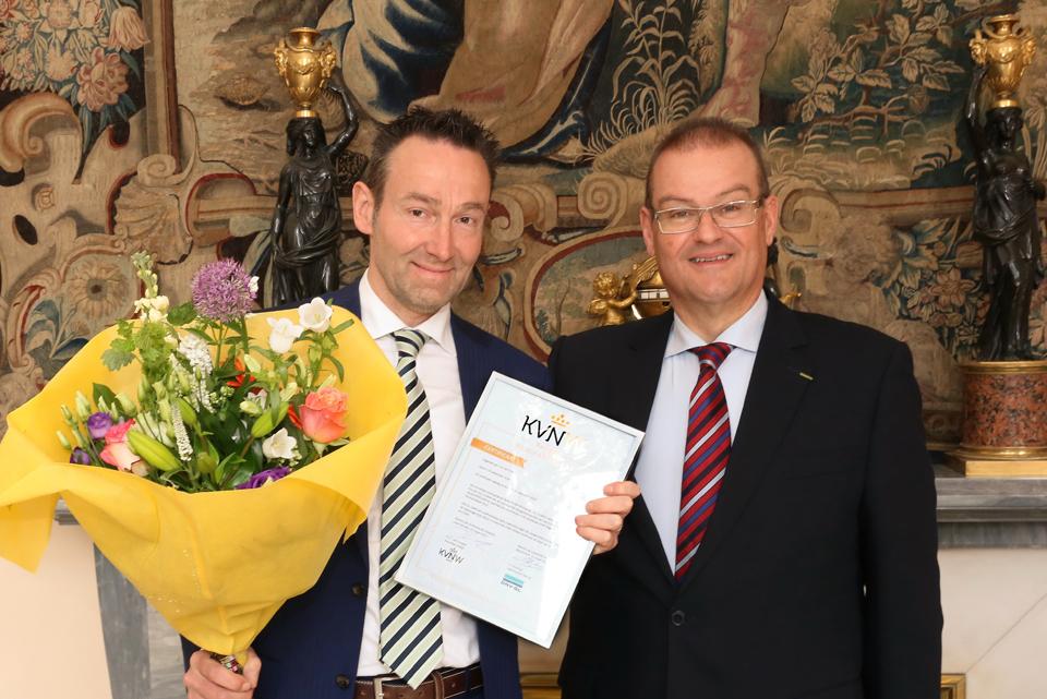 certificaat KVNW Register Wijnhandelaar