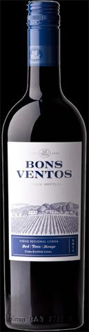 Bons Ventos Rood - wijngebied Lisboa