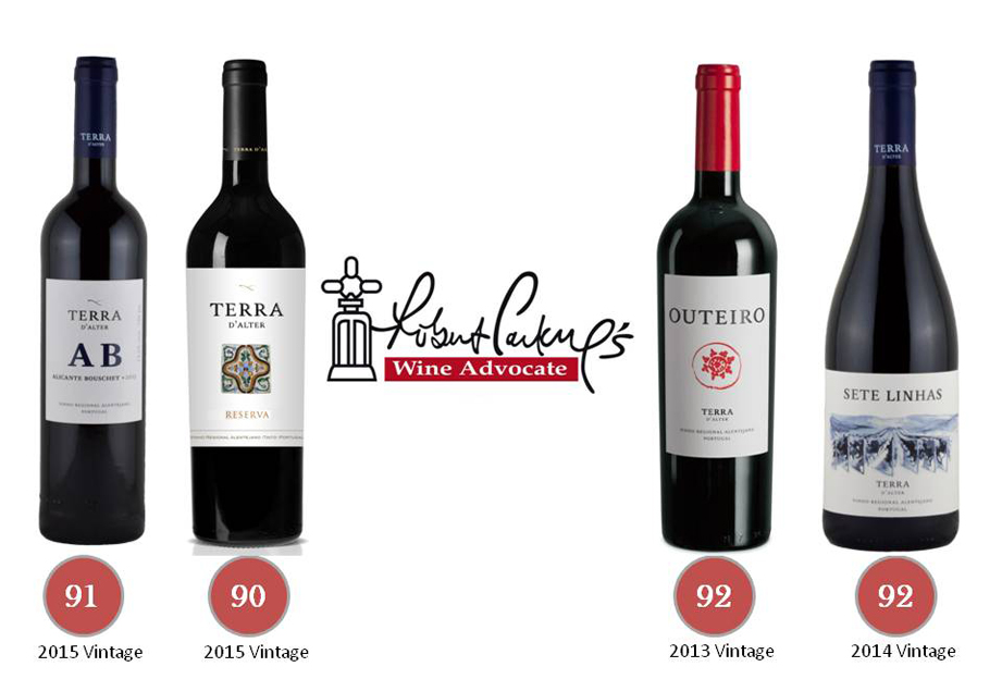 Wine Advocate Terra dÁlter 2018